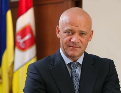 Поздравление мэра Одессы с Новым 2018 годом и Рождеством Христовым