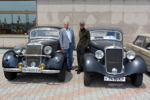 2 Одесса приглашает на выставку ретроавтомобилей