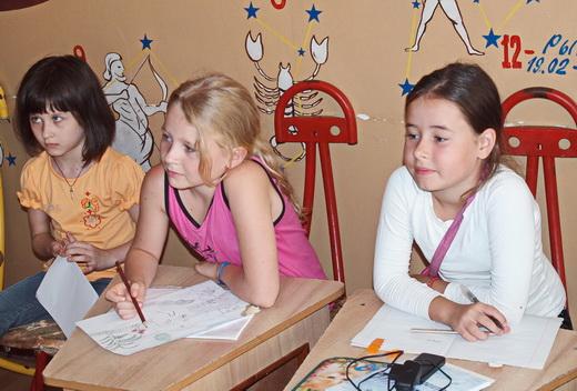 deti03 В Одессе детский санаторий «Ласточка» принял на отдых и лечение детей из зоны АТО