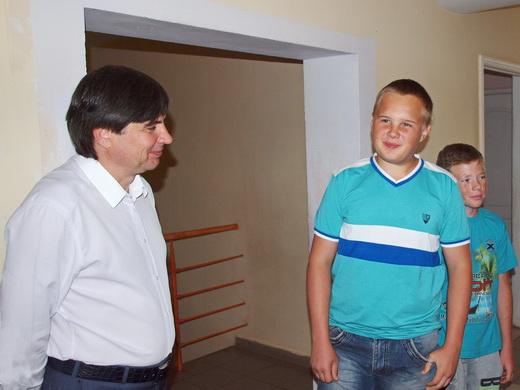 deti04 В Одессе детский санаторий «Ласточка» принял на отдых и лечение детей из зоны АТО
