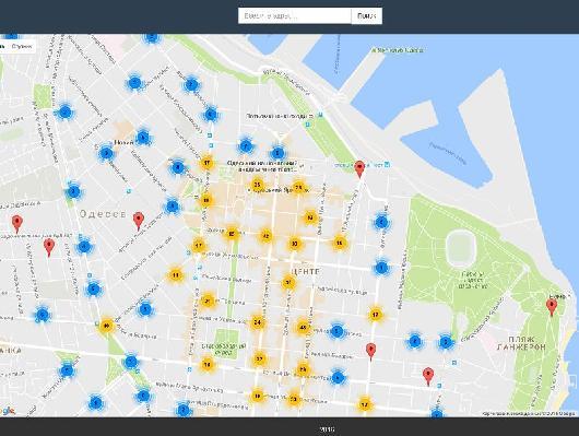 reklama В Одессе создают карту рекламных конструкций