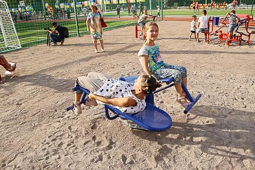 В Одессе появился еще один спорткомплекс нового поколения. Фото