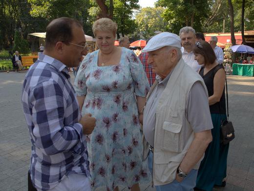 Вцентре Одессы затопило книжную выставку-ярмарку «Зеленая волна»