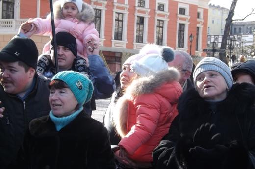 В Одессе в честь Соборности Украины пел хором Московский патриархат (ФОТО), фото-10
