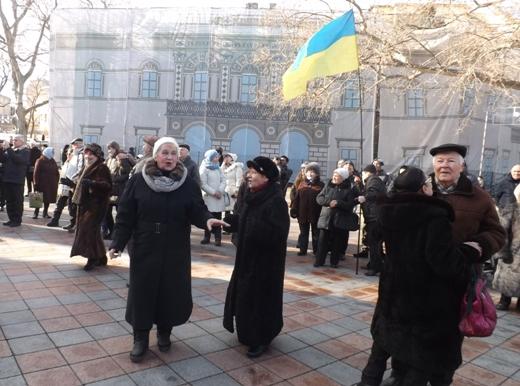 В Одессе в честь Соборности Украины пел хором Московский патриархат (ФОТО), фото-11