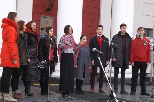 В Одессе в честь Соборности Украины пел хором Московский патриархат (ФОТО), фото-12