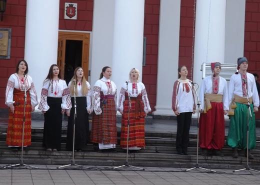 В Одессе в честь Соборности Украины пел хором Московский патриархат (ФОТО), фото-2