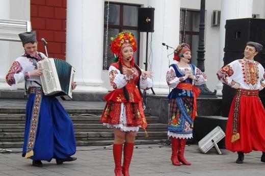В Одессе в честь Соборности Украины пел хором Московский патриархат (ФОТО), фото-5