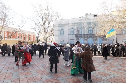 В Одессе в честь Соборности Украины пел хором Московский патриархат (ФОТО), фото-6