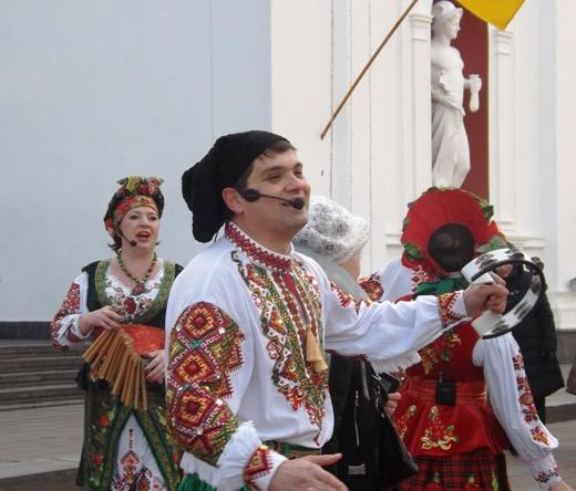 В Одессе в честь Соборности Украины пел хором Московский патриархат (ФОТО), фото-7