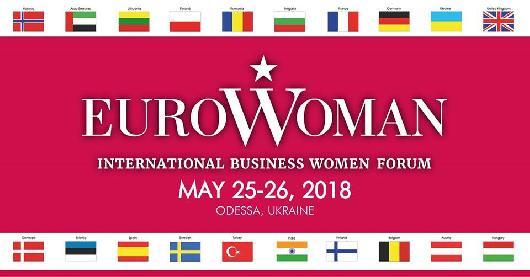 Международный женский бизнес-форум Eurowoman пройдет в Одессе
