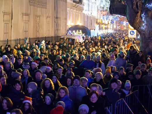 Как Одесса встретила Новый год: большой фоторепортаж фото 14
