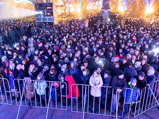 Как Одесса встретила Новый год: большой фоторепортаж фото 40
