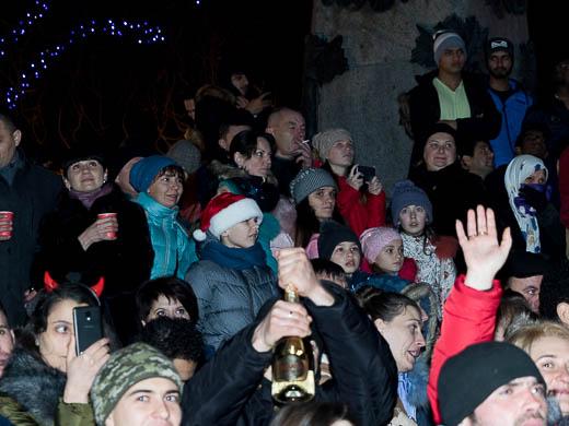 Как Одесса встретила Новый год: большой фоторепортаж фото 59