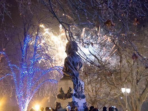 Как Одесса встретила Новый год: большой фоторепортаж фото 68