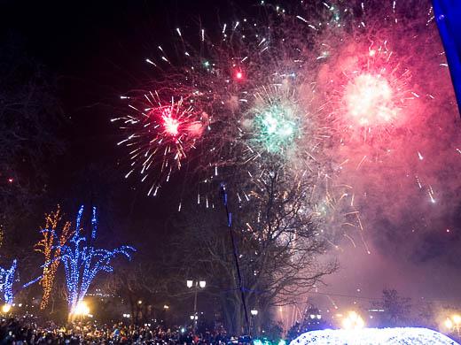 Как Одесса встретила Новый год: большой фоторепортаж фото 61