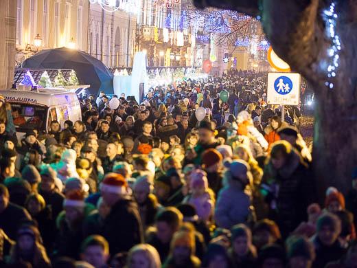 Как Одесса встретила Новый год: большой фоторепортаж фото 21