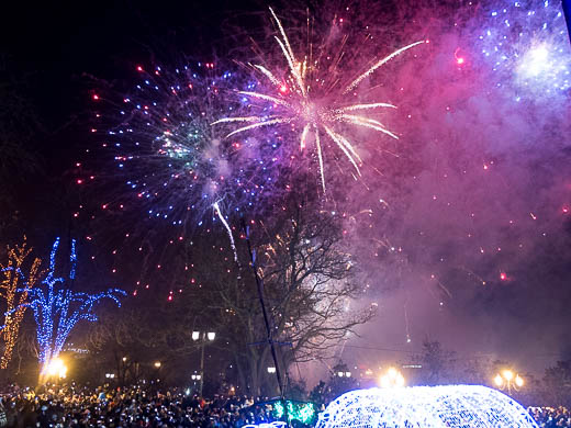 Как Одесса встретила Новый год: большой фоторепортаж фото 62
