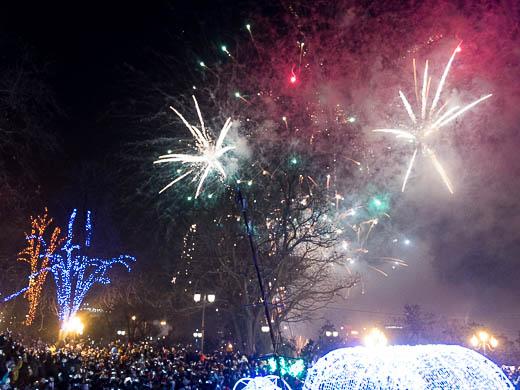 Как Одесса встретила Новый год: большой фоторепортаж фото 64