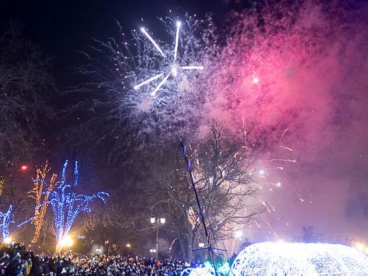 Как Одесса встретила Новый год: большой фоторепортаж фото 63