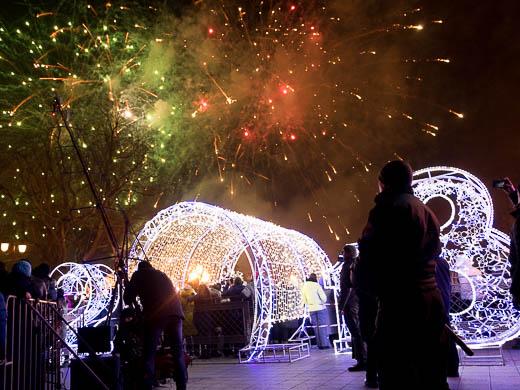 Как Одесса встретила Новый год: большой фоторепортаж фото 94