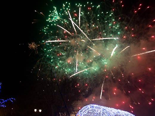Как Одесса встретила Новый год: большой фоторепортаж фото 65