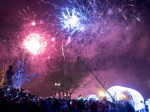 Как Одесса встретила Новый год: большой фоторепортаж фото 66