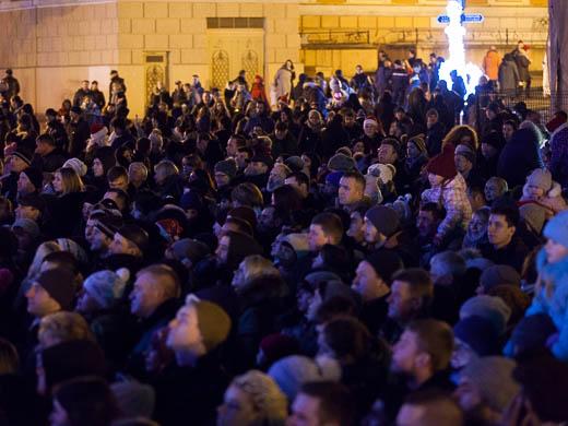 Как Одесса встретила Новый год: большой фоторепортаж фото 9