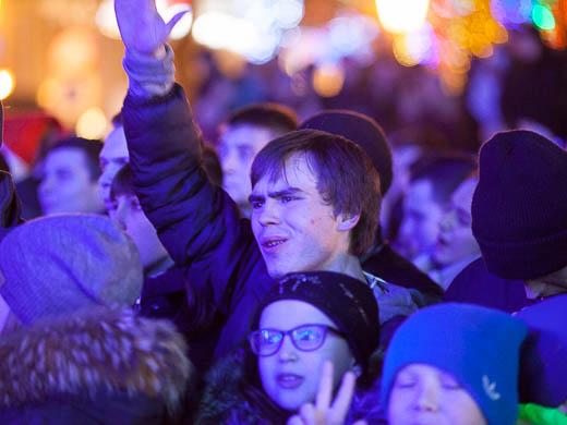 Как Одесса встретила Новый год: большой фоторепортаж фото 16