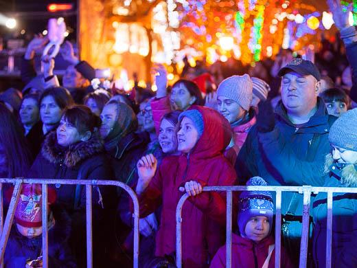 Как Одесса встретила Новый год: большой фоторепортаж фото 23
