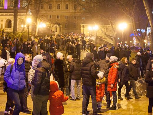 Как Одесса встретила Новый год: большой фоторепортаж фото 4