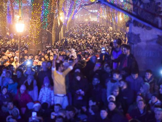 Как Одесса встретила Новый год: большой фоторепортаж фото 32