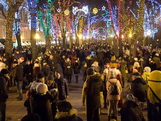 Как Одесса встретила Новый год: большой фоторепортаж фото 2