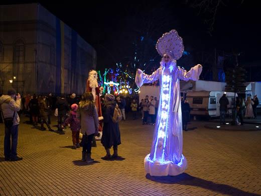 Как Одесса встретила Новый год: большой фоторепортаж фото 5