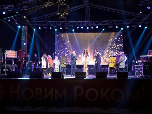 Как Одесса встретила Новый год: большой фоторепортаж фото 6