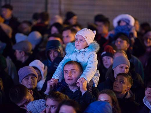Как Одесса встретила Новый год: большой фоторепортаж фото 11