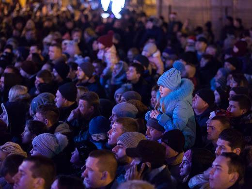 Как Одесса встретила Новый год: большой фоторепортаж фото 7