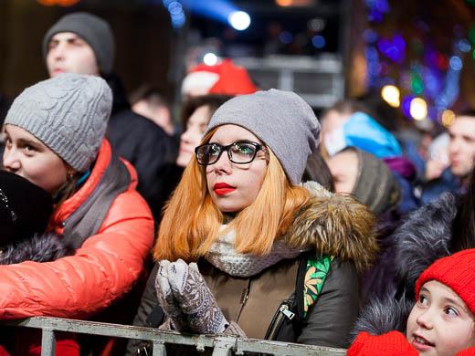 Как Одесса встретила Новый год: большой фоторепортаж фото 45