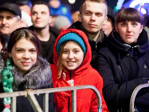 Как Одесса встретила Новый год: большой фоторепортаж фото 52