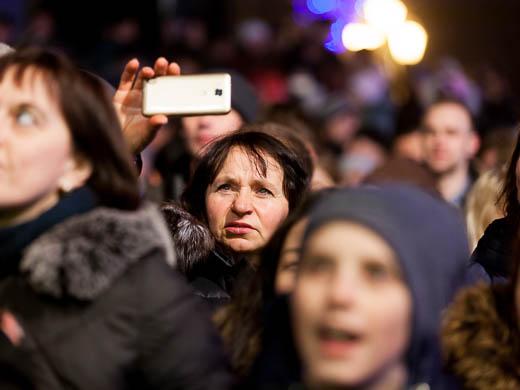 Как Одесса встретила Новый год: большой фоторепортаж фото 73
