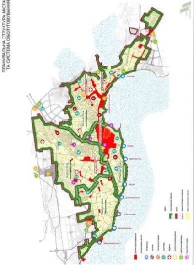 Планировочная структура города