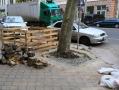 В Одессе проводят капремонт тротуаров по улице Ришельевской