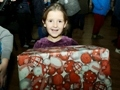 Small citizens of Odessa received presents delivered by the Christmas convoy from Germany