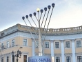 Hanukkah is celebrated in Odessa. Picture story