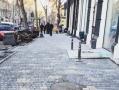 В Одессе продолжается капремонт тротуаров по улице Ришельевской. Фото