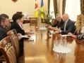 The mayor of Odessa met with representatives of the OSCE. Photos