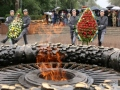 Odessa celebrates the Victory Day: the ceremony of laying flowers on the Walk of Fame. Photos