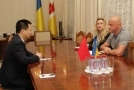 Mayor of Odessa has met with the Consul General of PR China in Ukraine Mr. Cao Yunlong