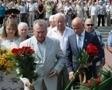 The citizens of Odessa honored the memory of those who died during the defense of the city in 1941