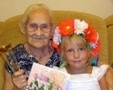 Lyubov Ivanovna Fomina from Odessa celebrated her 102nd birthday